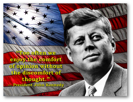 John Kennedy on Opinions